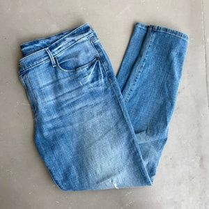 Ann Taylor Loft size 14 relaxed skinny jeans